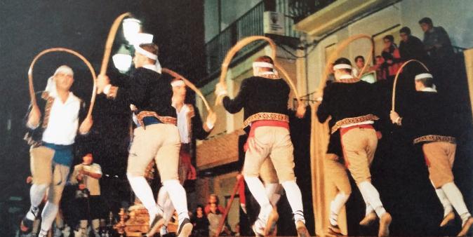 Paloteado de Ablitas. 2017. Danza de Arcos