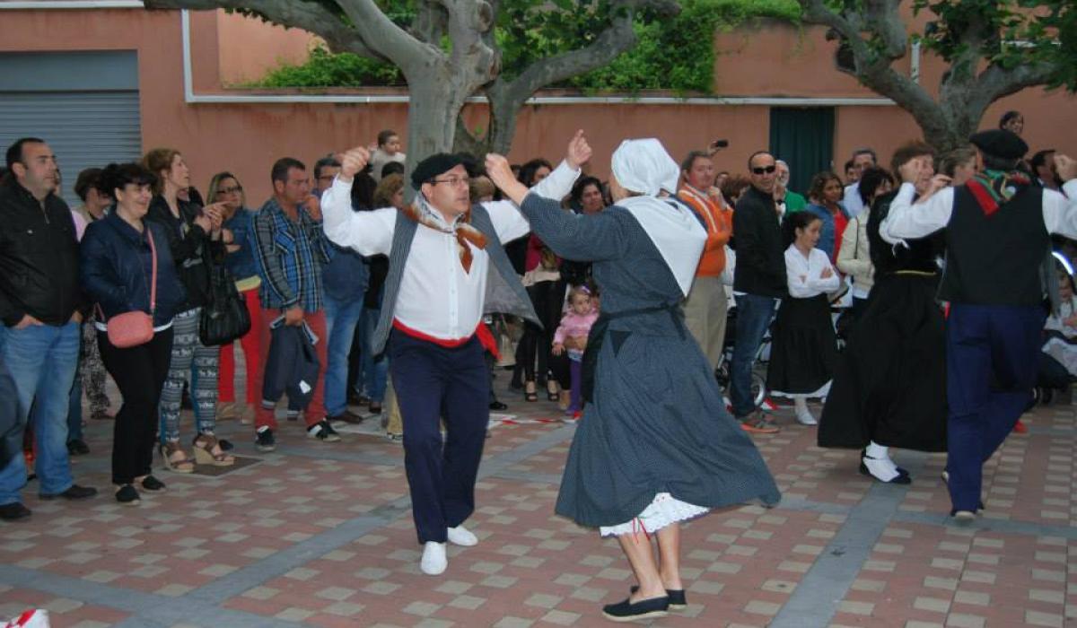 Cintruénigo. Baile de la Sanjuanera. 2013. Iturria: La Sanjuanera